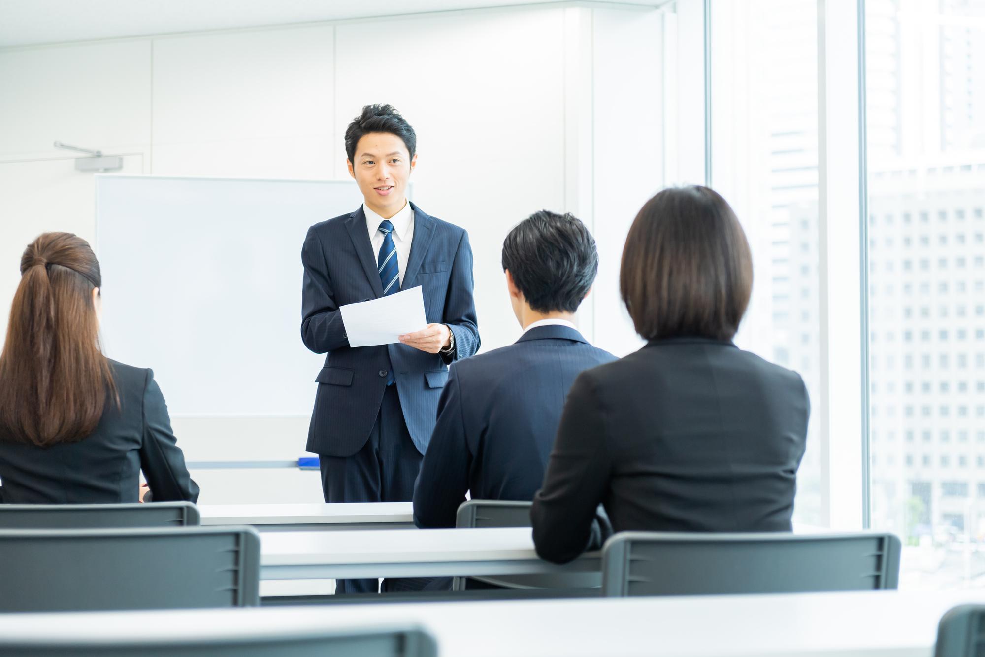 新入社員研修の充実度を求める学生が増加傾向に!採用人事は研修結果を次の採用にどう結びつける?